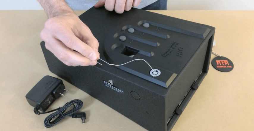 How To Pick A Gun Safe Lock With A Paperclip